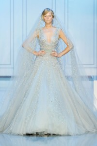 Designer-Dresses-2015-Elie-Saab-Wedding-Dress-Light-Blue-V-Neck-Beading-Luxury-Bridal-Gowns-vestido