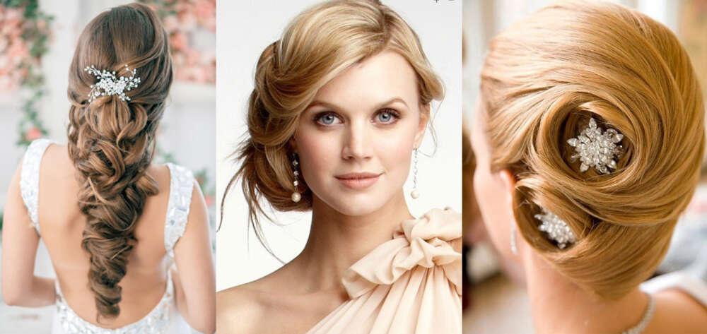 весільні зачіски зібране волосся (1)