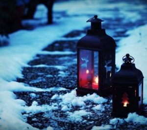 christmas-time-candle-light-road-snow-the-most-wonderful-time-of-the-year-f54061