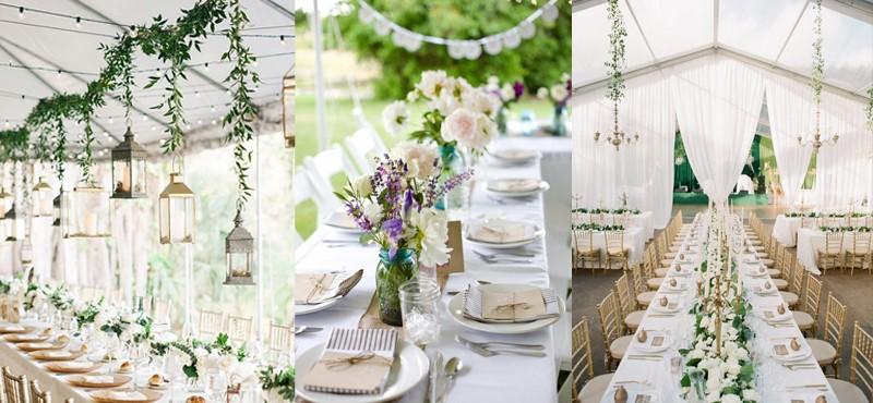 оформлення весілля в шатрі