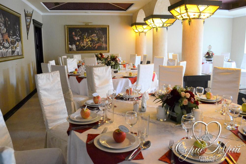 весілля у львові оформлення ресторан шервуд (22)