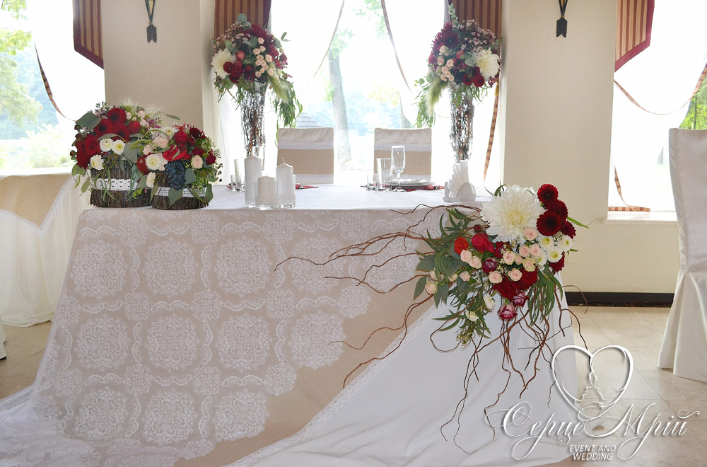 весілля у львові оформлення ресторан шервуд (27)