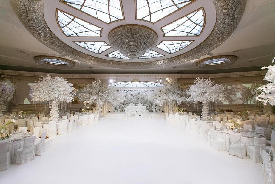 ідеї декору для весілля зимова казка