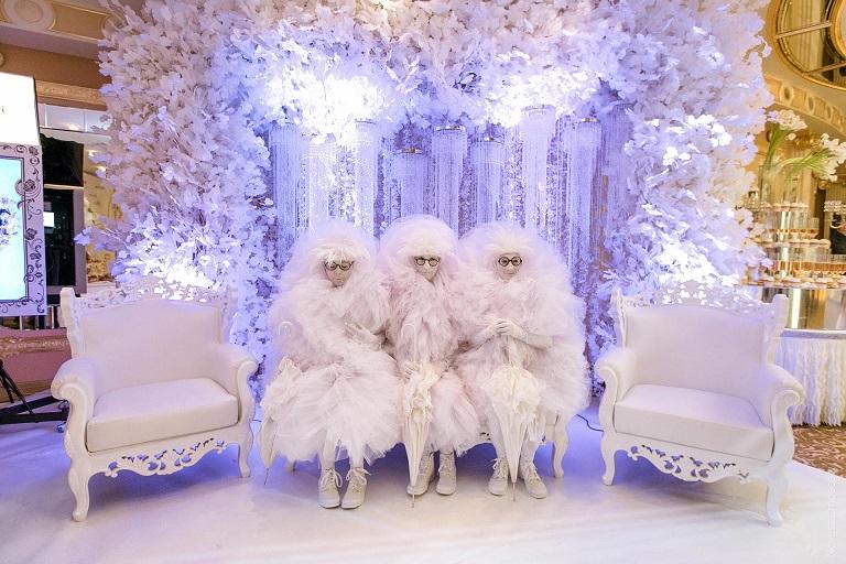 топові ідеї для весілля зимова казка