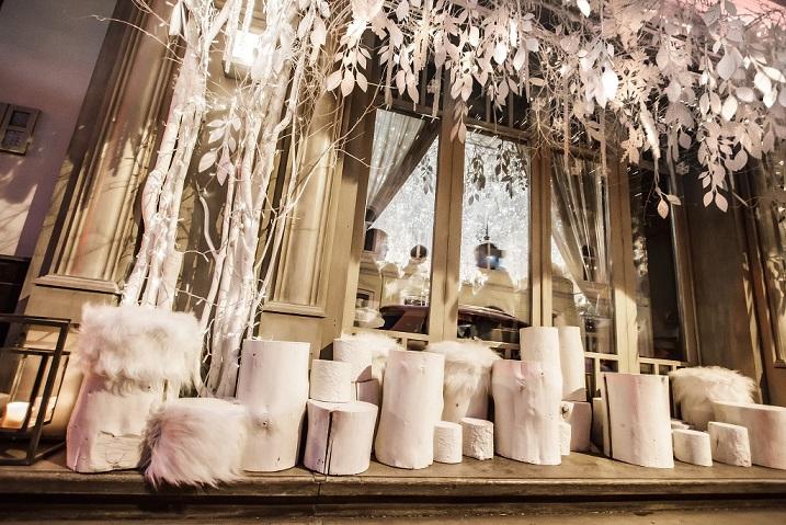 креативні ідеї для весілля зимова казка