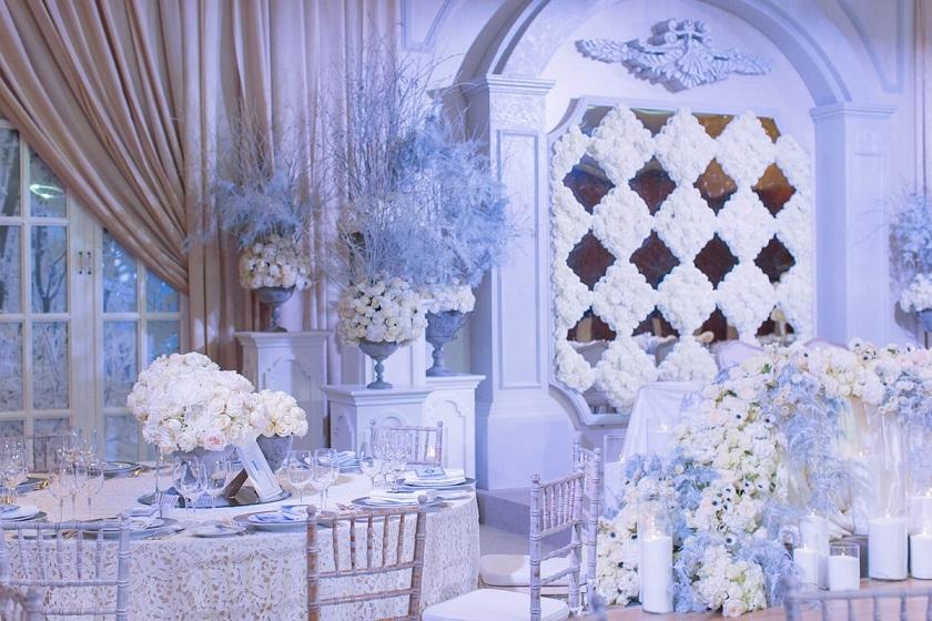 весілля в стилі зимова казка