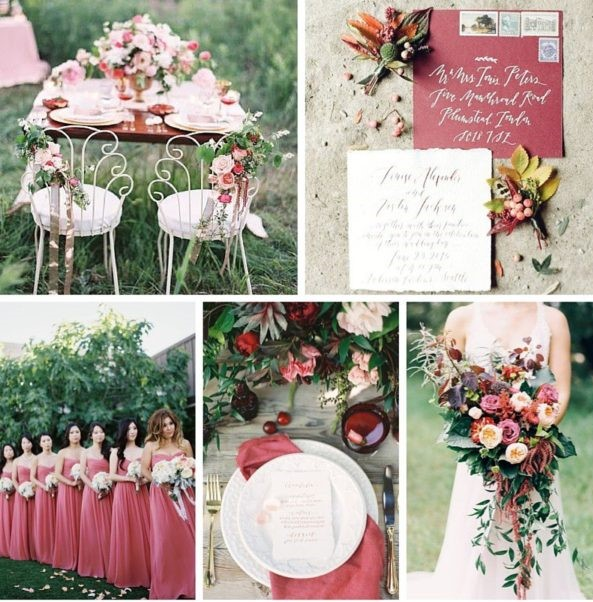 кольори на весілля 2020-2021