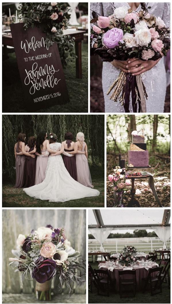 то колір весілля осінь зима 2020-2021