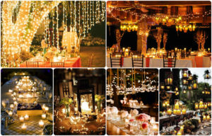 ліхтарики, лампочки на весіллі