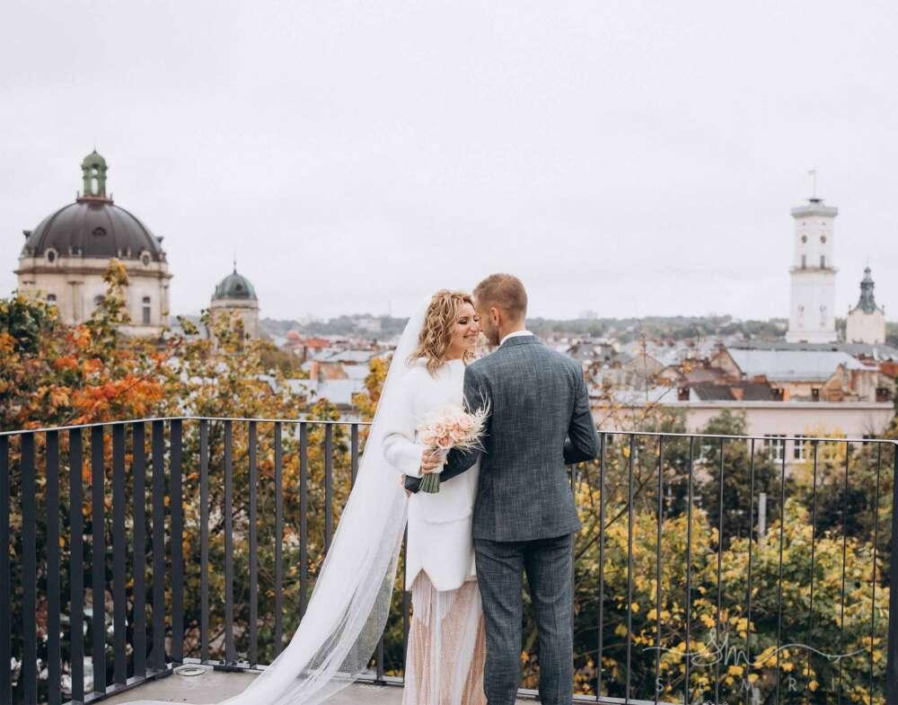 осіннє весілля у Львові