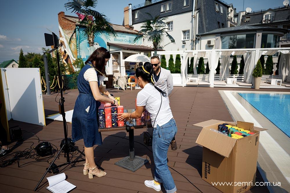 вечірка біля басейну у Львові організація і клоординація свята