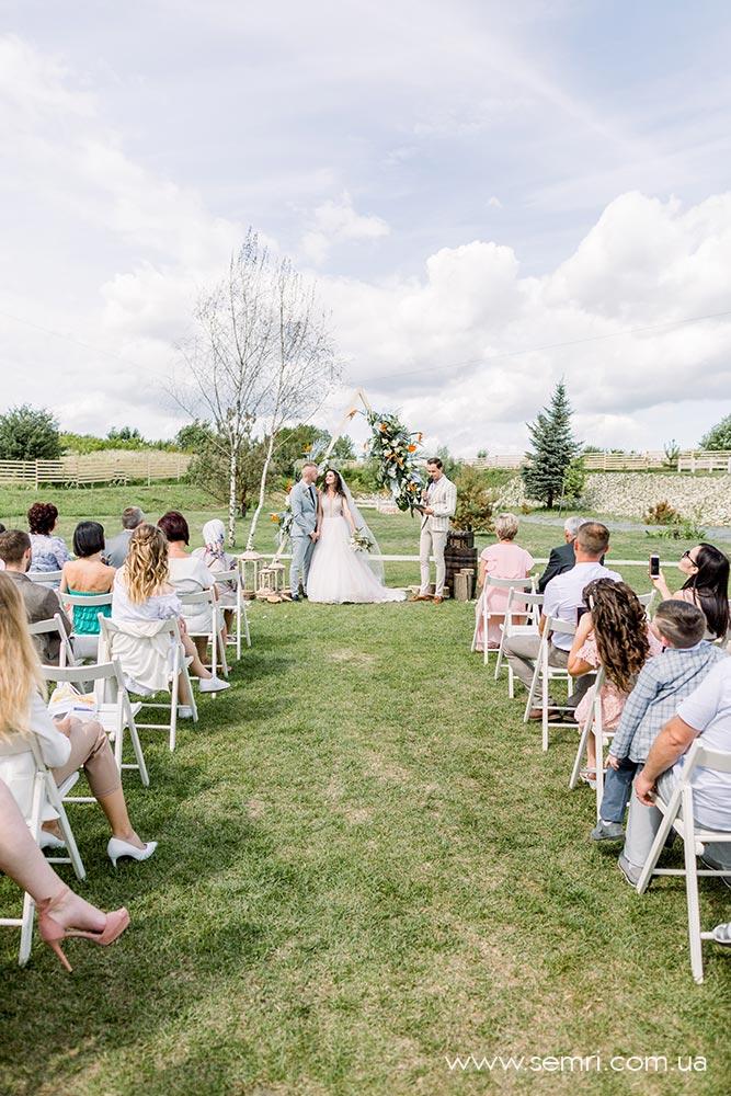 весілля на природі Львів