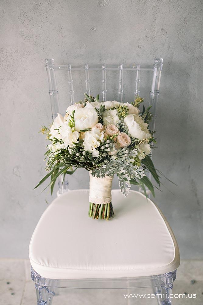 весільні букети для нареченої у Львові